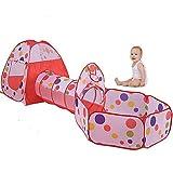 Intérieur Tente et Tunnel Enfant,VicPow Maisons et Tentes de Jardin pour Enfant(Boules Non Inclus)