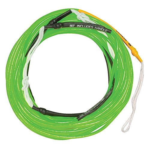 Hyperlite Silicone Line Wakeboard Rope Sz 80ft Neon Green