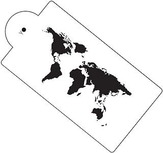 Amazon.com: world map stencil