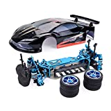 Kanzd ZD-Racing Pirates3 TC-10 4WD 1/10 RC Tourning Car CNC Upgrade Frame Body Chassis (A)