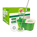 Best Spin Mops - Scotch-Brite 2-in-1 Bucket Spin Mop (Green, 2 Refills) Review