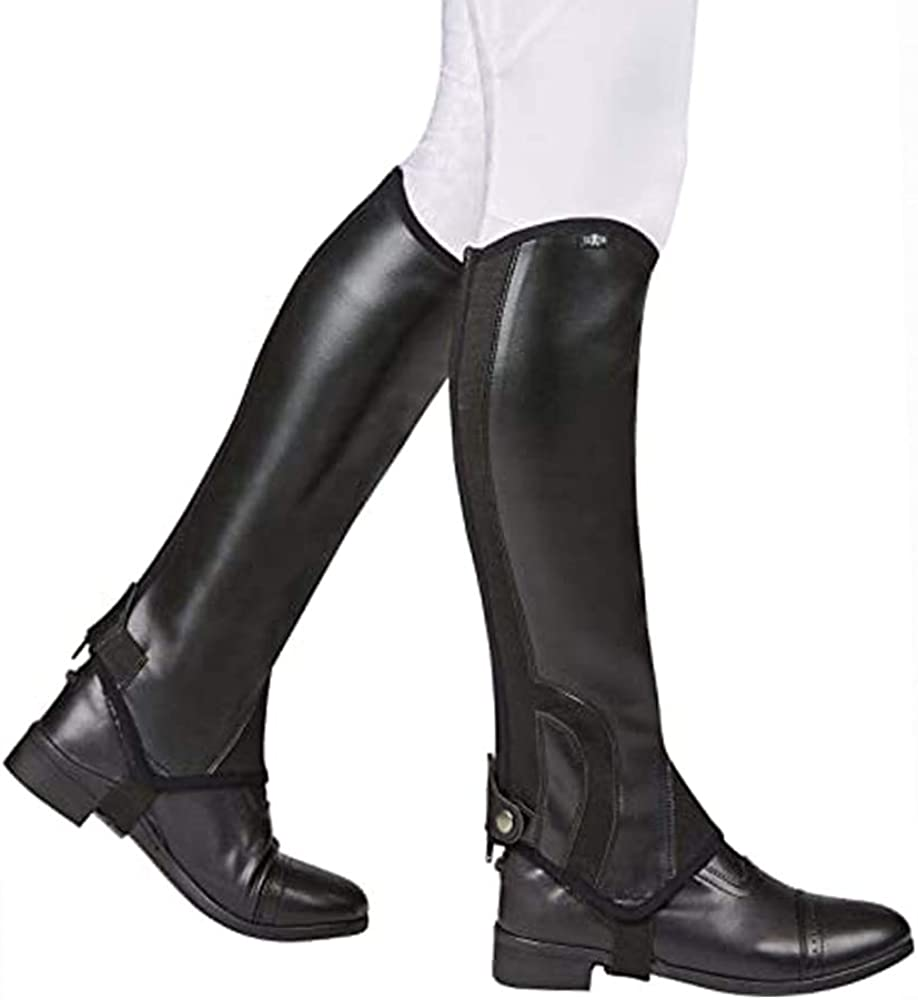 Saxon. Adult's Equileather Chaps Alternative dealer Half San Diego Mall