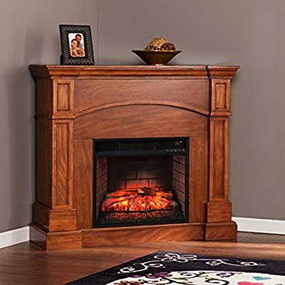 Southern Enterprises Infrared Media Fireplace