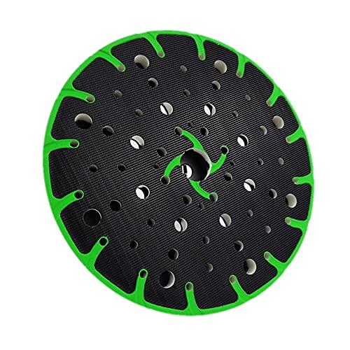 Lijadora de almohadilla de lijado sin polvo de 6 pulgadas con varios agujeros abrasivos para lijado de discos de pulido (suave)