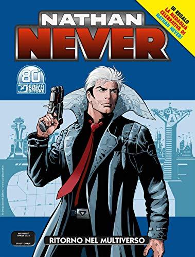 Fumetto Nathan Never N° 359 - Ritorno nel Multiverso + Medaglia Nathan Never – Sergio Bonelli Editore – Italiano