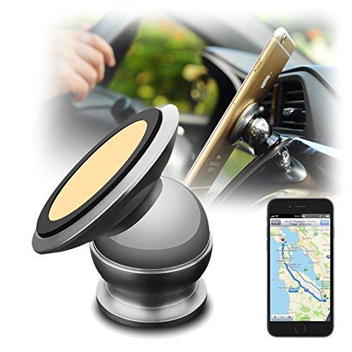 Seluxion - Soporte magnético para coche para iPhone 6 Plus, iPhone 6S Plus