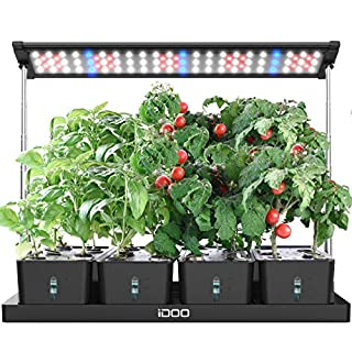 iDOO 20Pods Indoor Herb Garden, LED Grow Light for Indoor Herb Planter with Customize Timer, 4pcs Removable Water Tanks for Indoor Outdoor Hydroponics Growing, Height Adjustable, I-D-01 (B08R88NJZZ)   Amazon price tracker / tracking, Amazon price history charts, Amazon price watches, Amazon price drop alerts