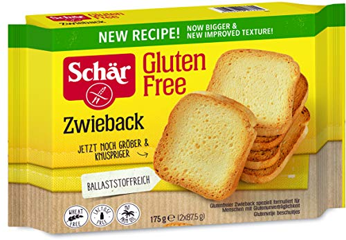 Schär Zwieback glutenfrei 175g