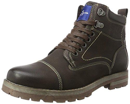 TOM TAILOR Herren 378990130 Klassische Stiefel, Braun (Mokka), 44 EU