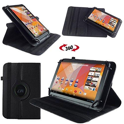 NAUC Hülle für Huawei MediaPad M1 8.0 Tasche Schutzhülle Hülle Tablet Cover Etui, Farben:Schwarz
