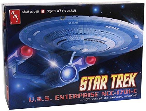 AMT AMT721 - 1/1400 Star Trek USS Enterprise NCC-1701-C Modellbausatz