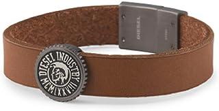 Diesel Men's Vintage Coin Cuff Bracelet