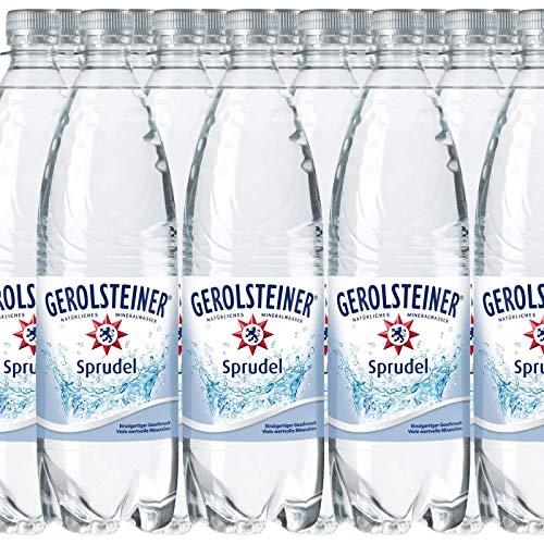 18 Flaschen Gerolsteiner Classic Sprudel Mineralwasser a 1000ml in PET inc. 2.70€ Mehrweg Flasche