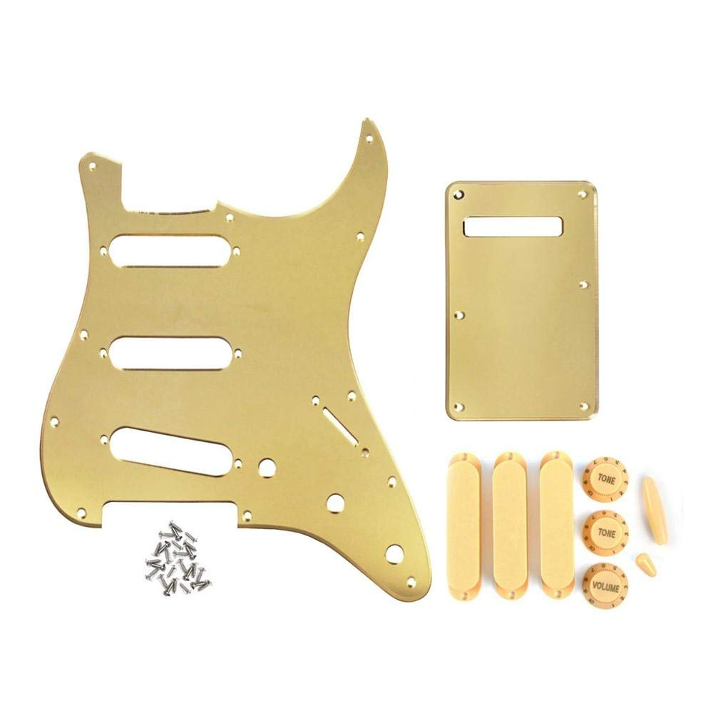 Guitar Dealing full price reduction Parts Set of Pickguard Electric Scratchplate Mirro Boston Mall