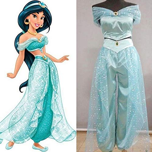 MSSJ Mujeres Adultas Chica Anime Aladdin...
