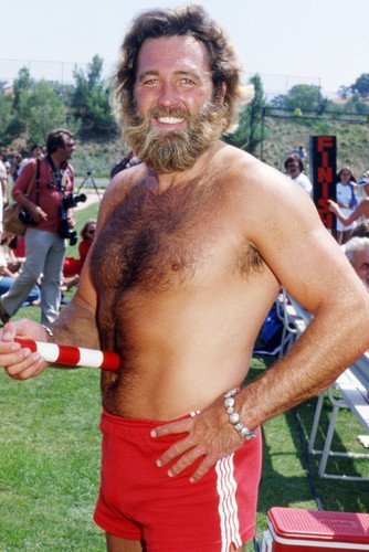 Dan Haggerty 24X36 Poster Bare Chested Hunk Grizzly Adams Star