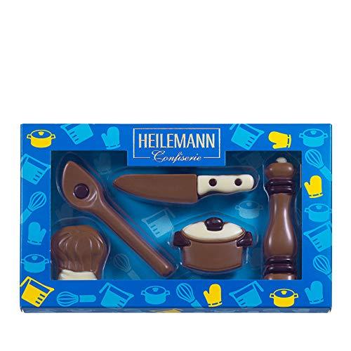 """Heilemann Geschenkverpackung \""""Kochen\"""" Edelvollmilch, 100g"""