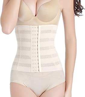 Women's High Compression Waist Trainer Corset Body Shaper Cincher Tummy Control Girdle Shapewear Slimming Underbust Belt