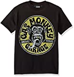 Gas Monkey Garage Boys' Little Equipped Graphic T-Shirt, Black, YM