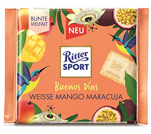 RITTER SPORT 'Buenos Días' Weisse Mango Maracuja, 1 x 100 g