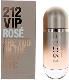212 VIP ROSE by Carolina Herrera 2.7 Ounce / 80 ml Eau de Parfum Women Perfume Spray