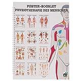 Physiotherapie des Menschen Mini-Poster Booklet Anatomie