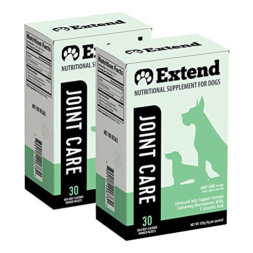 Top 10 best selling list for extend nutritional supplements for dogs reviews