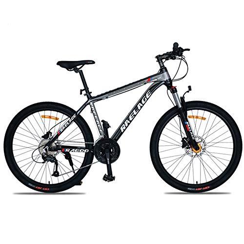 GQFGYYL-QD Bicicleta de montaña con Asiento Ajustable y absorción de Impactos, Freno de Disco hidráulico 27,5 Pulgadas y 33 velocidades, para Adultos Que montan al Aire Libre,2