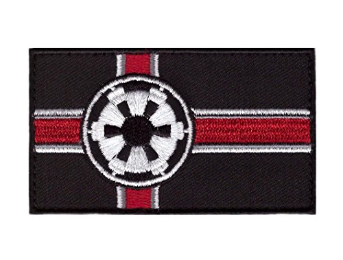 Titan One Europe Hook Fastener Imperial Flag Star Galactic Empire Wars Morale Tactical Cap Patch Taktische Klettband Aufnäher