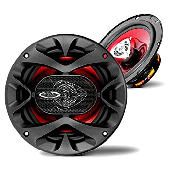 BOSS Audio Systems CH6520 Car Speakers - 250 Watts of Power Per Pair 125 Watts Each 6.5 Inch Full Range 2 Way Sold in Pairs Black