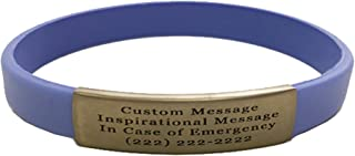 Best silicone id bracelet Reviews