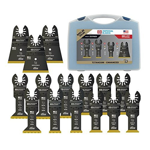 Buy Imperial Blades IBOATV-15 Universal Fit Titanium Storm Blade Variety Pack - 15 Piece Case
