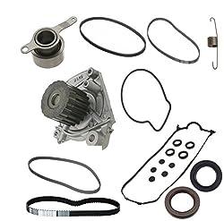 Timing belt kit-Timing belt kit with water pump-Gates timing