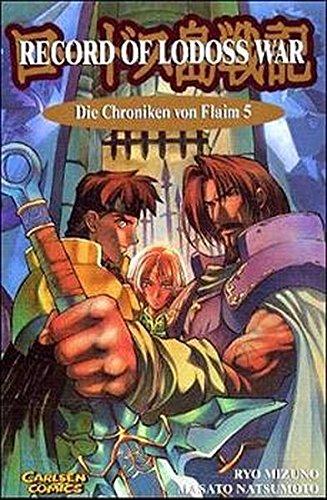 Record of Lodoss War, Die Chroniken von Flaim, Bd.5, In der Gewalt Marmos