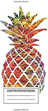 Notebook: Multicolour Pattern Pineapple , Journal for Writing, Size 6