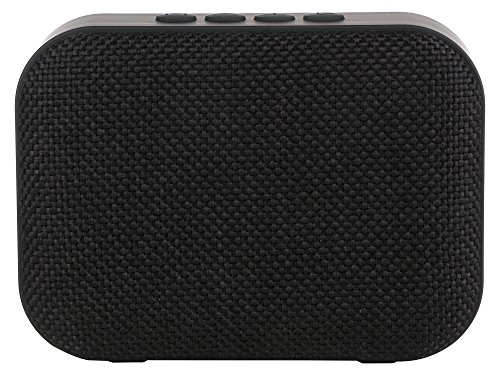Live Tech Portable Yoga Black Bluetooth Wireless Speaker with Micro SD/AUX/Mic (Black)