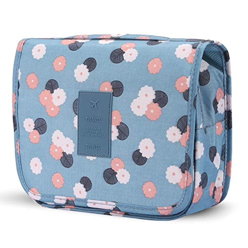 Portable Hanging Toiletry Bag Travel Makeup Pouch Waterproof Organizer Multifunction Cosmetic Bag for Women Girl