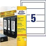 Avery Zweckform C32267-25 - Etiquetas para archivadores (25