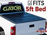 Gator FX3 Hard Folding (fits) 2016-2018 Toyota Tacoma 5 Foot Bed Only Tonneau Truck Bed Cover Made in USA (6610426)