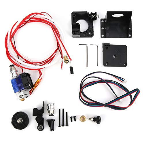 All Metal Extruder Kit, Precise Procession Stainless Steel High Efficiency Extruder Set, Printing for Extruder 3D Printer Office Equipment