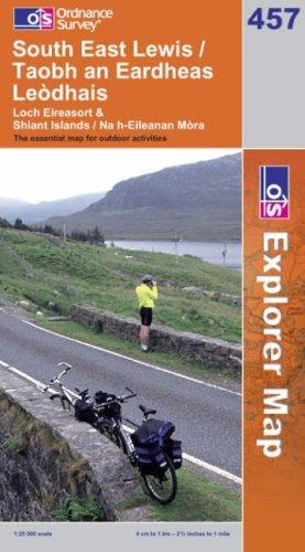 OS Explorer map 457 : South East Lewis / Taobh an Eardheas Leòdhais
