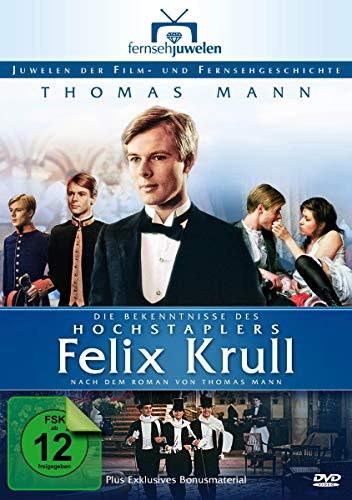 Thomas Mann: Die Bekenntnisse des Hochstaplers Felix Krull - Teil 1-5 (Fernsehjuwelen) [3 DVDs] [Alemania]