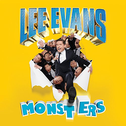 Lee Evans - Monsters Live audiobook cover art