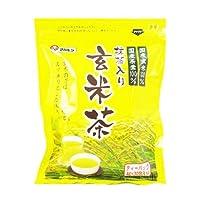 marubishi【抹茶入り玄米茶ティーバック】【福岡県産茶葉使用】【国産原料100%】