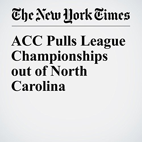 ACC Pulls League Championships out of North Carolina audiobook cover art