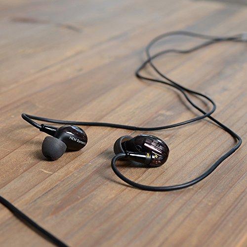 NuForce HEM Dynamic Hi-Res In-Ear Kopfhörer Schwarz