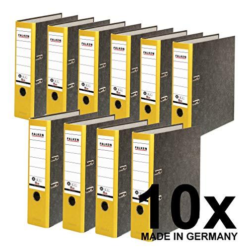Originele Falken recycling-map Verpakking van 10 stuks. breit geel