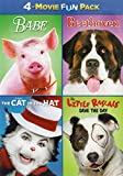 Babe / Beethoven / The Cat in the Hat / The Little Rascalz: Save the Day (4-Movie Fun Pack)