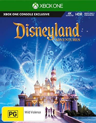 Disneyland Adventures XBOX One 4K HDR XBOX One X Enhanced Microsoft