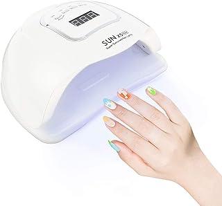 Lámpara de Uñas UV LED 150W con 4 Temporizadores Sensor Automático Portátil Pantalla LCD Secador de Uñas para Manicura/Pedicure Nail Art en el Hogar y el Salón
